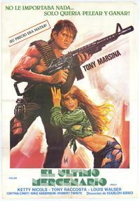 The Last Mercenary - 11 x 17 Movie Poster - Spanish Style A