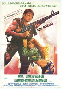 The Last Mercenary - 27 x 40 Movie Poster - Spanish Style A