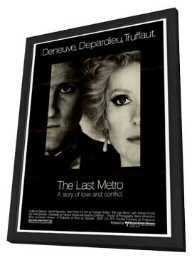 The Last Metro - 11 x 17 Movie Poster - Style A - in Deluxe Wood Frame
