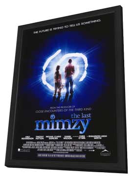 The Last Mimzy - 27 x 40 Movie Poster - Style A - in Deluxe Wood Frame