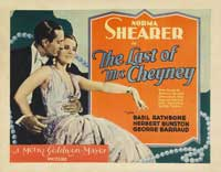 The Last of Mrs. Cheyney - 11 x 14 Movie Poster - Style C