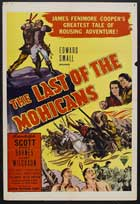 The Last of the Mohicans - 11 x 17 Movie Poster - Style B