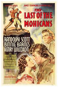 The Last of the Mohicans - 27 x 40 Movie Poster - Style A