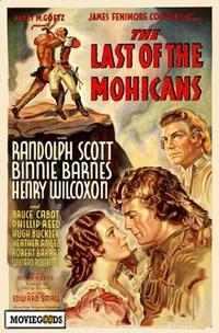 The Last of the Mohicans - 43 x 62 Movie Poster - Bus Shelter Style A