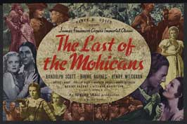 The Last of the Mohicans - 11 x 17 Movie Poster - Style C
