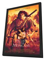 The Last of the Mohicans - 27 x 40 Movie Poster - Style A - in Deluxe Wood Frame