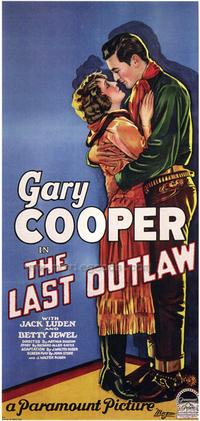 The Last Outlaw - 20 x 40 Movie Poster - Style A