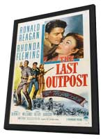 The Last Outpost - 11 x 17 Movie Poster - Style B - in Deluxe Wood Frame