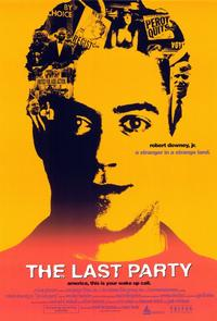 The Last Party - 11 x 17 Movie Poster - Style A