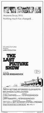 The Last Picture Show - 14 x 36 Movie Poster - Insert Style A