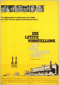 The Last Picture Show - 11 x 17 Movie Poster - German Style A