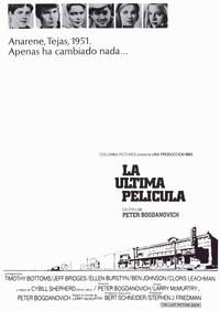 The Last Picture Show - 11 x 17 Movie Poster - Spanish Style A