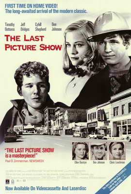 The Last Picture Show - 27 x 40 Movie Poster - Style C