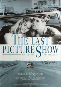 The Last Picture Show - 11 x 17 Movie Poster - German Style B