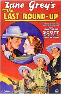 The Last Round-Up - 11 x 17 Movie Poster - Style A