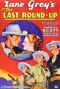 The Last Round-Up - 27 x 40 Movie Poster - Style A