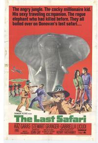 The Last Safari - 11 x 17 Movie Poster - Style A