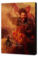 The Last Samurai - 11 x 17 Movie Poster - Style H - Museum Wrapped Canvas