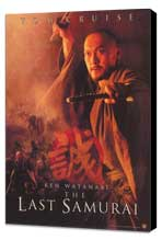 The Last Samurai - 27 x 40 Movie Poster - Style C - Museum Wrapped Canvas