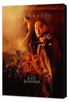 The Last Samurai - 11 x 17 Movie Poster - Style K - Museum Wrapped Canvas