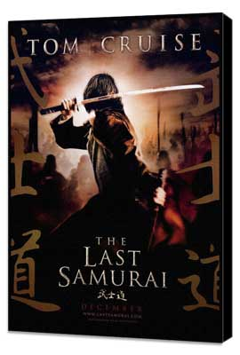 The Last Samurai - 27 x 40 Movie Poster - Style A - Museum Wrapped Canvas