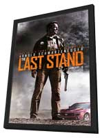 The Last Stand - 11 x 17 Movie Poster - Style A - in Deluxe Wood Frame