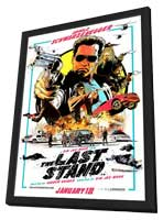 The Last Stand - 27 x 40 Movie Poster - Style B - in Deluxe Wood Frame