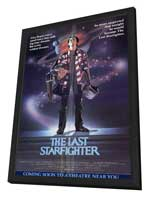The Last Starfighter - 11 x 17 Movie Poster - Style A - in Deluxe Wood Frame