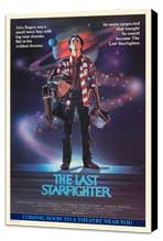 The Last Starfighter - 27 x 40 Movie Poster - Style A - Museum Wrapped Canvas