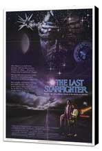 The Last Starfighter - 27 x 40 Movie Poster - Style B - Museum Wrapped Canvas