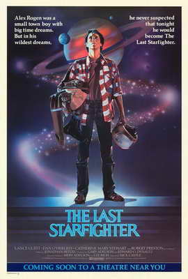 The Last Starfighter - 27 x 40 Movie Poster - Style A