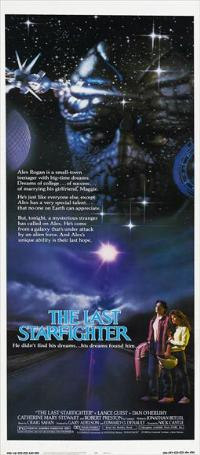 The Last Starfighter - 14 x 36 Movie Poster - Insert Style A