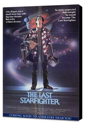 The Last Starfighter - 11 x 17 Movie Poster - Style A - Museum Wrapped Canvas