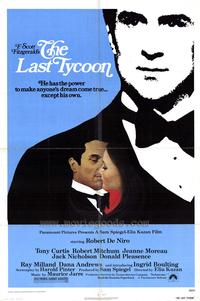 Last Tycoon, The - 43 x 62 Movie Poster - Bus Shelter Style A