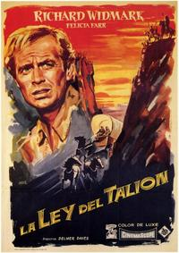 The Last Wagon - 11 x 17 Movie Poster - Spanish Style A