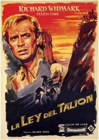 The Last Wagon - 27 x 40 Movie Poster - Spanish Style A