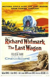 The Last Wagon - 27 x 40 Movie Poster - Style A