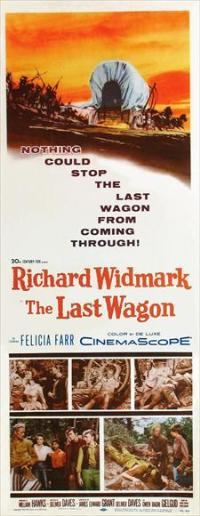The Last Wagon - 14 x 36 Movie Poster - Insert Style A
