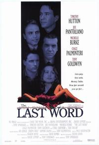 The Last Word - 27 x 40 Movie Poster - Style A