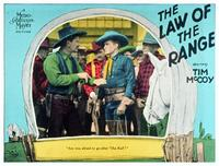 The Law of the Range - 11 x 14 Movie Poster - Style D