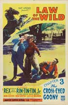 The Law of the Wild - 27 x 40 Movie Poster - Style E