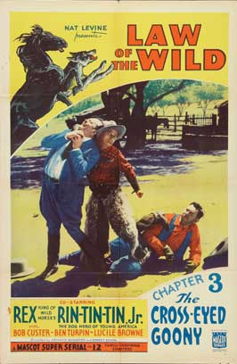 The Law of the Wild - 11 x 17 Movie Poster - Style E