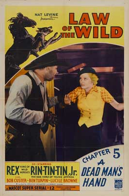 The Law of the Wild - 27 x 40 Movie Poster - Style D