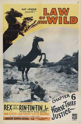 The Law of the Wild - 27 x 40 Movie Poster - Style F