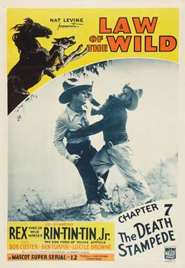 The Law of the Wild - 11 x 17 Movie Poster - Style F