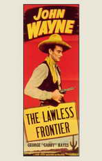 The Lawless Frontier - 11 x 17 Movie Poster - Style A