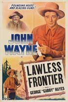 The Lawless Frontier - 11 x 17 Movie Poster - Style D