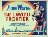 The Lawless Frontier - 11 x 14 Movie Poster - Style B