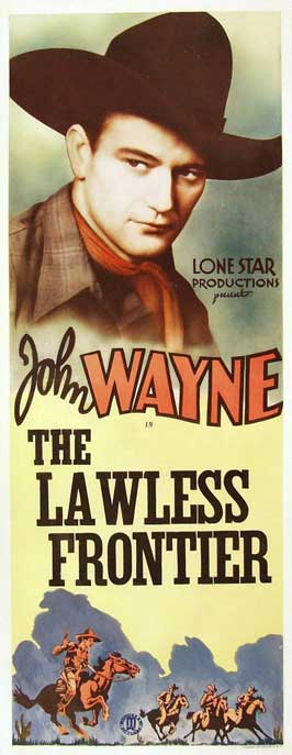 The Lawless Frontier - 14 x 36 Movie Poster - Insert Style A
