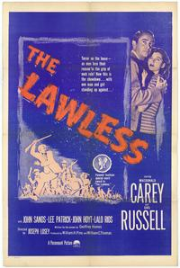 The Lawless - 43 x 62 Movie Poster - Bus Shelter Style A